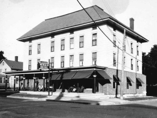 The Herald Hotel in Clayton