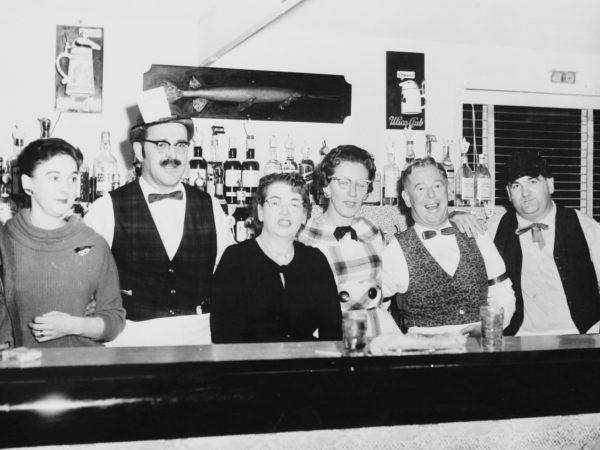 Bartenders at McCormick's Bar in Clayton