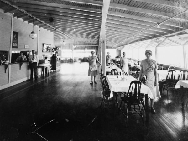Waitresses at Vincent's Restaurant in Clayton