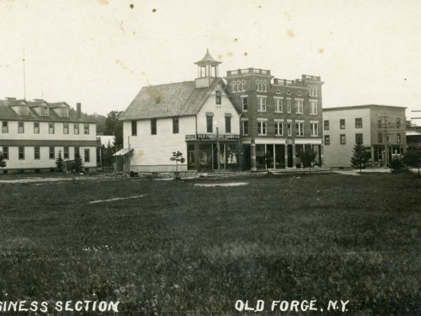 View of buildings in Old Forge