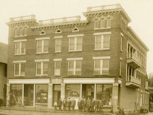 The Old Forge Hardware Store and employees in Old Forge
