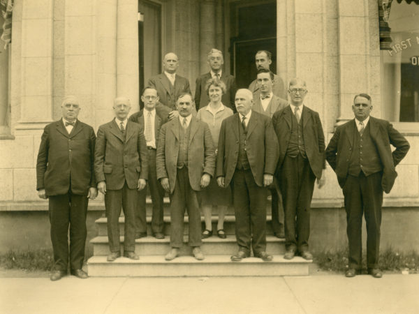 Board of directors of the First National Bank of Old Forge
