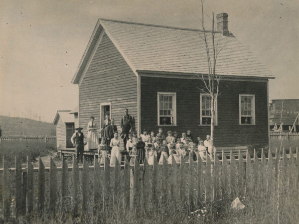 First frame school in Indian Lake