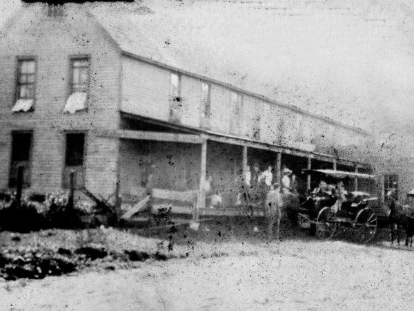 The original Avery's Inn in Piseco