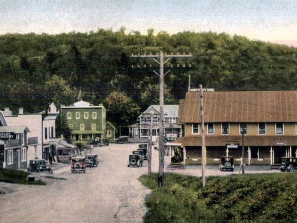 The town of Inlet in 1925
