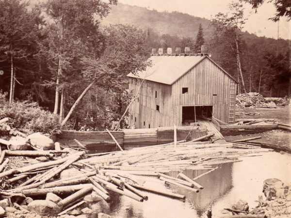 The 5th Lake Lumber Mill in Inlet