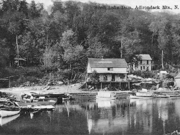 The 6th Lake Dam in Inlet