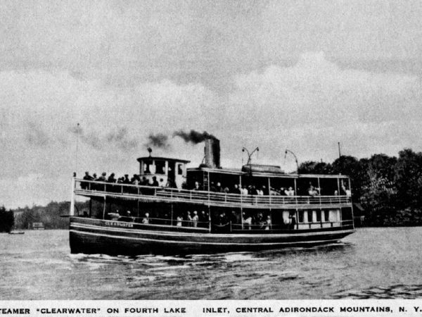 "The steamer ""Clearwater"" in Inlet"