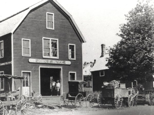 John Buyce Blacksmith Shop in Speculator