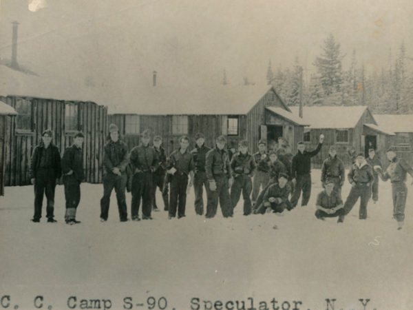 Civilian Conservation Corps Camp S-90 in Speculator