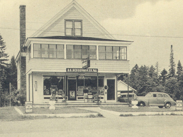 Schoonmaker's Drug Store in Speculator