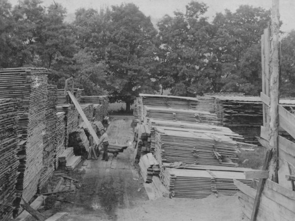 Sawmill at Deerfield Front in Long Lake