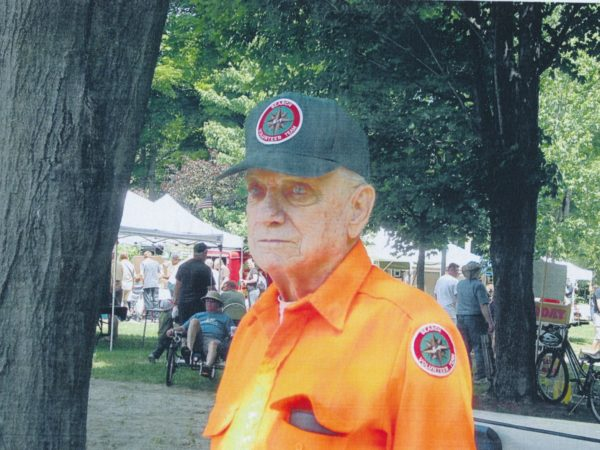 Search and rescue volunteer in Benson