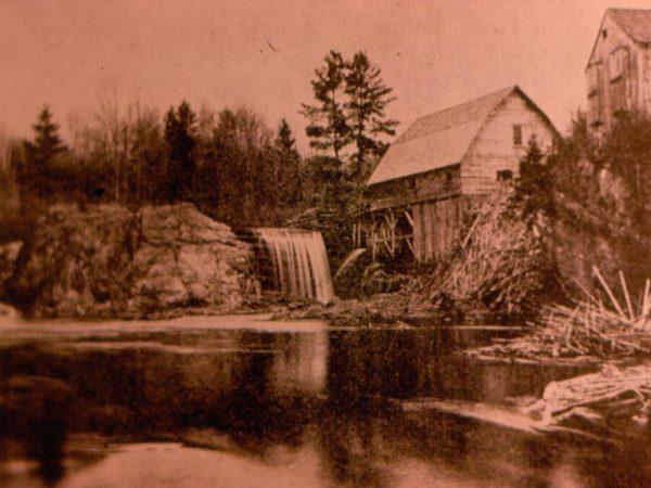 Sawmill in Hope Falls