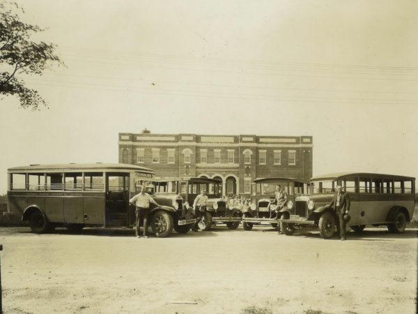 Brockway buses in Indian Lake
