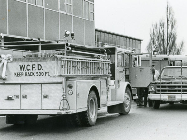 West Carthage Fire Department Truck in Carthage