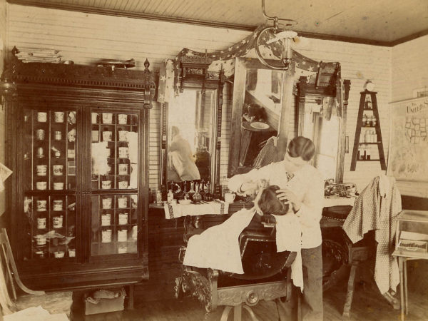 The Altamont Hotel Barber Shop in Tupper Lake