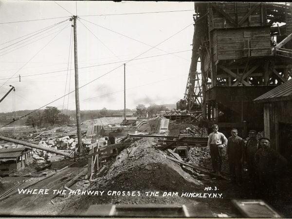 Construction of the Hinckley Reservoir in Hinckley