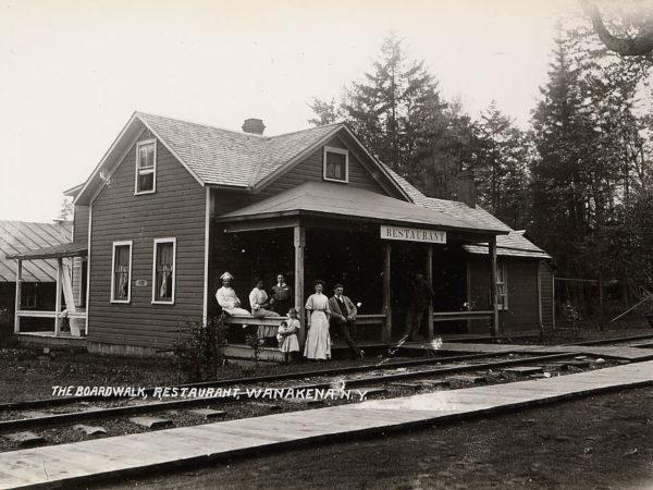 The Boardwalk Restaurant in Wanakena