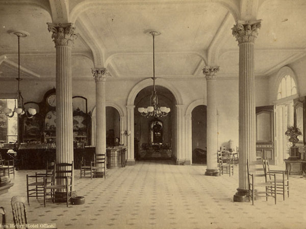 Inside the Fort William Henry Hotel in Lake George