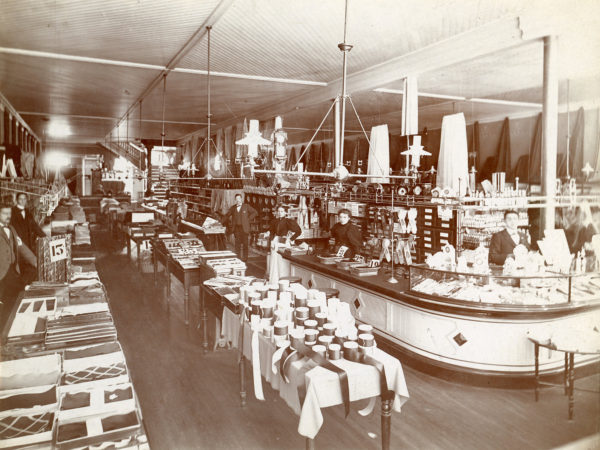 Inside the Boston Co. Store in Glens Falls