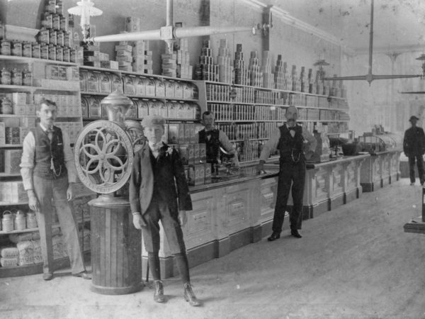 The interior of O.C. Smith Store in Glens Falls