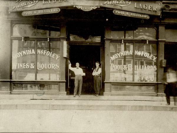 The exterior of Moynihan & Foley: Pool & Billiards, Wines & Liquors in Glens Falls