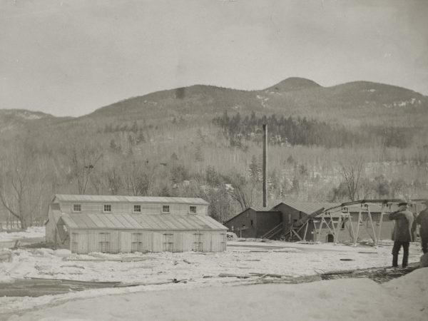 Fletcher Beede's sawmill in Keene Valley