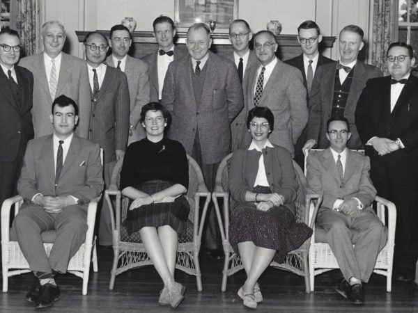 Staff of the state sanatorium in Ray Brook