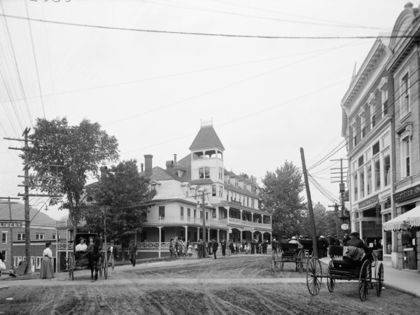 The Berkeley House for tuberculosis patients in Saranac Lake