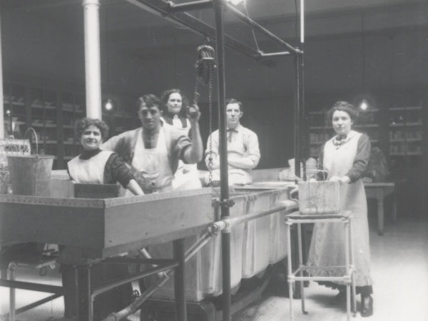 Brook Sanitorium Laundry Workers in Saranac Lake