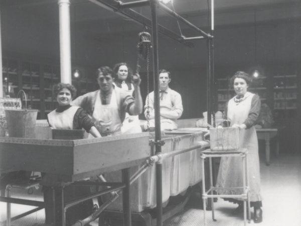 Brook Sanitorium Laundry Workers in Saranac Lake