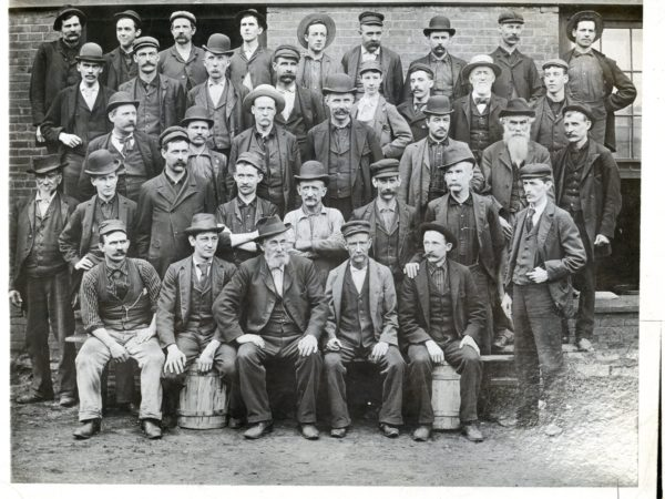 Employees of the New York Air Brake Company in Watertown