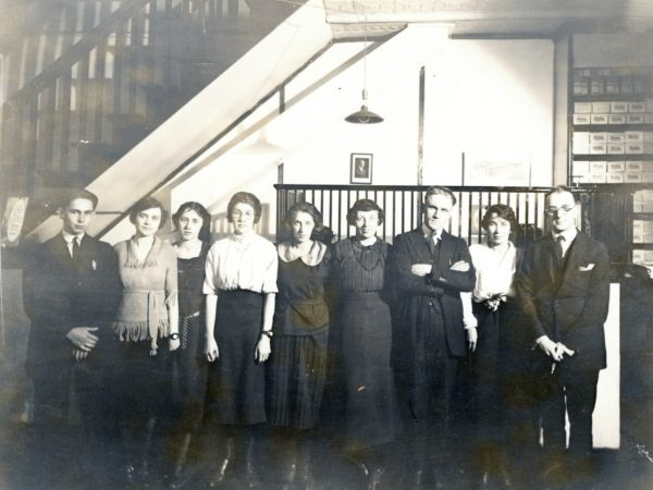 5c. T: Employees of the G.R. Kinney Company Shoe store in Watertown