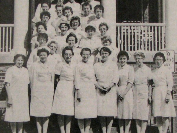 The nursing staff of the Saranac Lake General Hospital