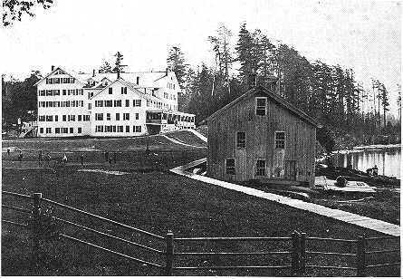 The Paul Smith's Hotel in Saranac Lake
