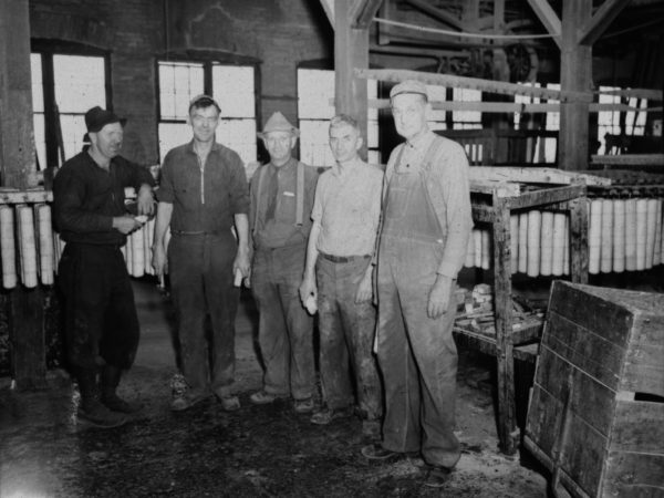 Employees of Braman Manufacturing Company in Carthage