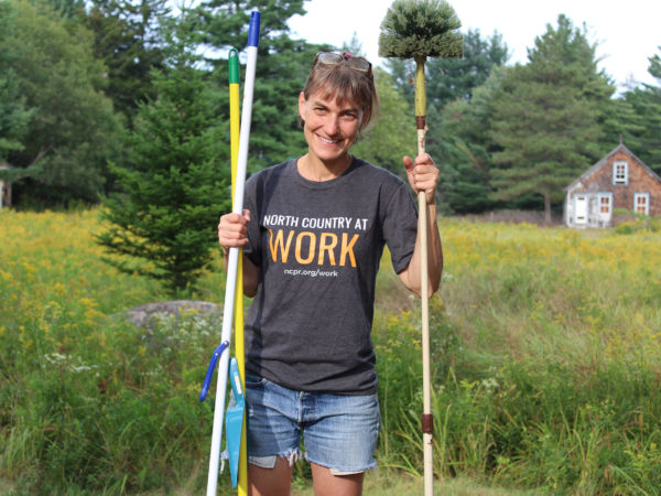 House cleaner Jen Signell in Long Lake