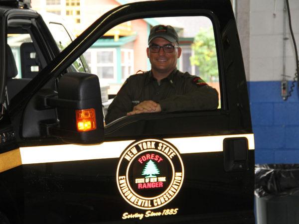 Forest Ranger Chris Kostoss in Wilmington