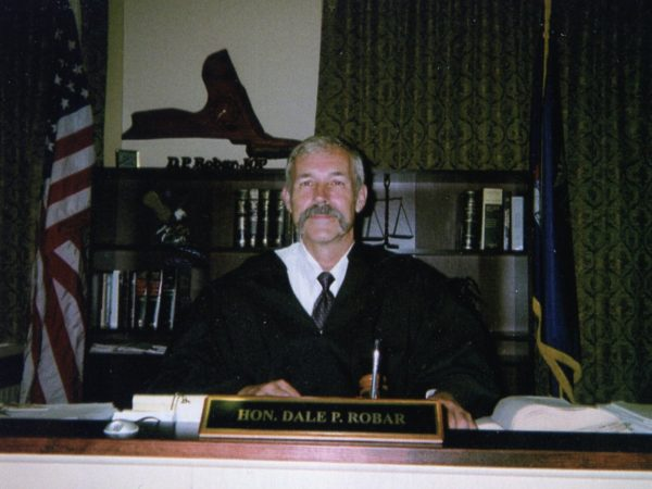 The Honorable Dale P. Robar in South Colton