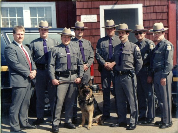 The Tupper Lake Troopers K-9 unit