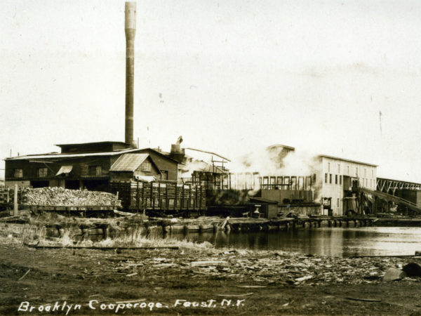 The Brooklyn Cooperage Mill in Tupper Lake
