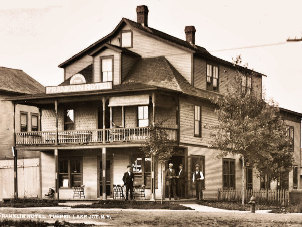 The Franklin Hotel in Faust neighborhood of Tupper Lake