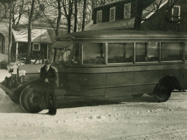 Tupper Lake Junction Bus in Tupper Lake