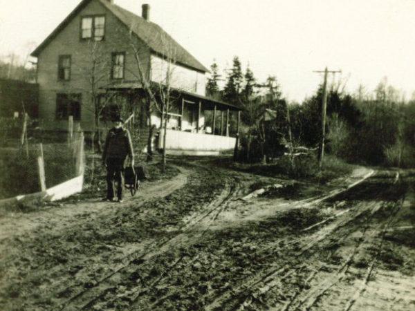 Postmaster Moody in Tupper Lake