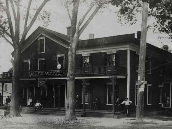 Allen House in Beaver River
