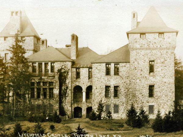 Litchfield Castle in Tupper Lake