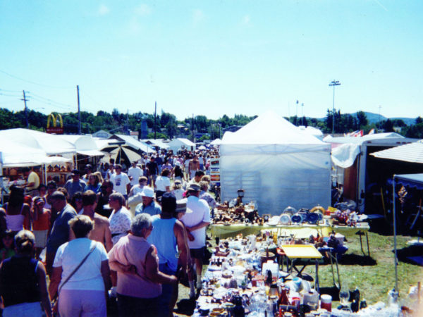 Masonic Flea Market in Tupper Lake