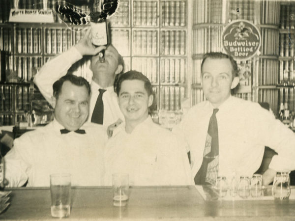 Bartenders at the Elks Lodge in Plattsburgh