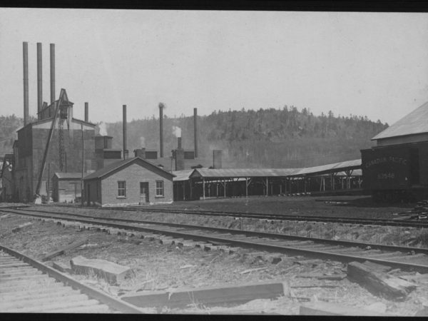 The Brooklyn Cooperage Co. alcohol plant in Tupper Lake